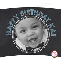 Printable Cupcake Wrappers - Photo Wrapper - Max & Otis Designs