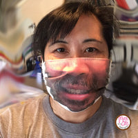 "Custom Face ""Face"" Mask - Upload your own photo - Max & Otis Designs"