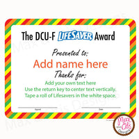 Custom Printable Certificate Designs (Editable PDF) - Max & Otis Designs