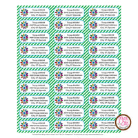 Girl Scout Daisy Printable Address Labels (editable PDF) - Max & Otis Designs