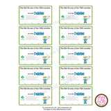Girl Scout Daisy Printable Membership Cards (editable PDF) - Max & Otis Designs