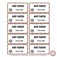 Girl Scout Name Tags - Daisy Garden Journey (editable PDF) - Max & Otis Designs