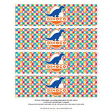 Printable Water Bottle Wrappers - Cars Dinoco - Max & Otis Designs