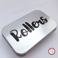 Metal Hinged Tins - Blank, Altoids Tin size (Wholesale) - Max & Otis Designs