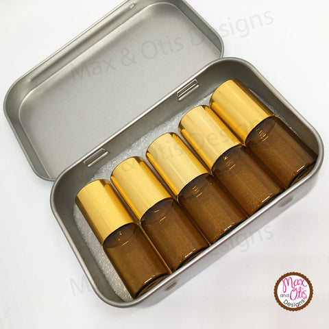 Essential Oil Rollers & Travel Case (Bulk & Wholesale) - Max & Otis Designs