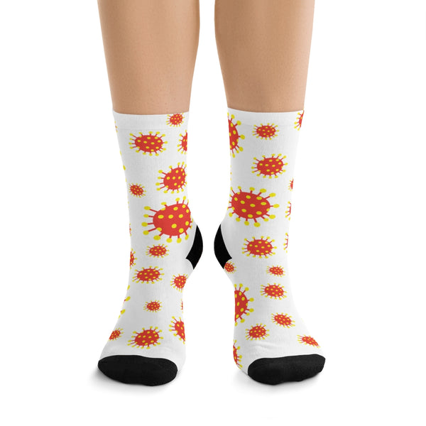 Corona Virus Socks