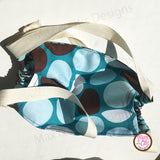 Designer Fashion Face Mask - nose wire & fabric ties - Max & Otis Designs
