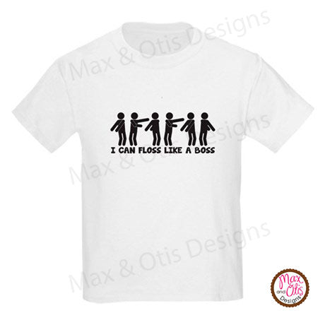 Floss Like a Boss - Youth T-shirt - Max & Otis Designs