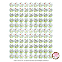 Printable Hershey Kiss Stickers - Golf - Max & Otis Designs