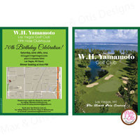 Golf Party - Custom Invitation Printable - Max & Otis Designs