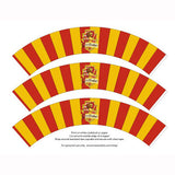 Printable Cupcake Wrappers - Harry Potter Gryffindor - Max & Otis Designs