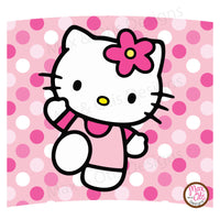 Printable Cupcake Wrappers - Hello Kitty - Max & Otis Designs