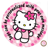 "Printable 2"" Tags & Labels - Hello Kitty"