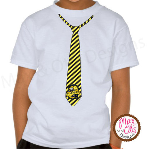 Printable Iron-On Transfer - Harry Potter Hufflepuff Tie