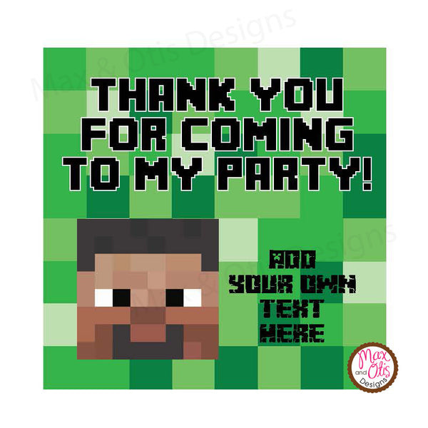 graphic regarding Printable Minecraft Images named Printable 2