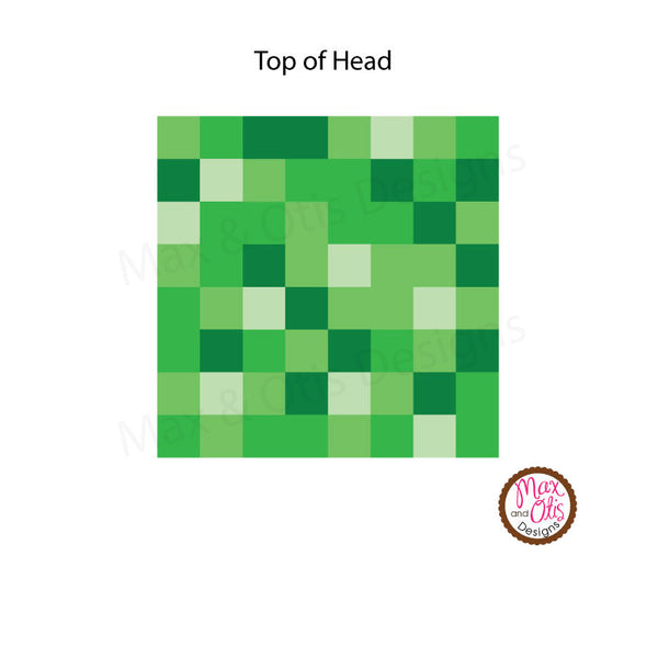 It is a photo of Delicate Minecraft Steve Head Printable
