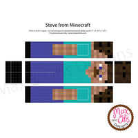 Minecraft Pinewood Derby Printable Car Skin Max Otis Designs