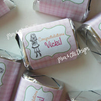 Printable Hershey Nuggets Stickers - It's a Girl! - Max & Otis Designs