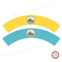 Printable Cupcake Wrappers - Custom Designs - Max & Otis Designs
