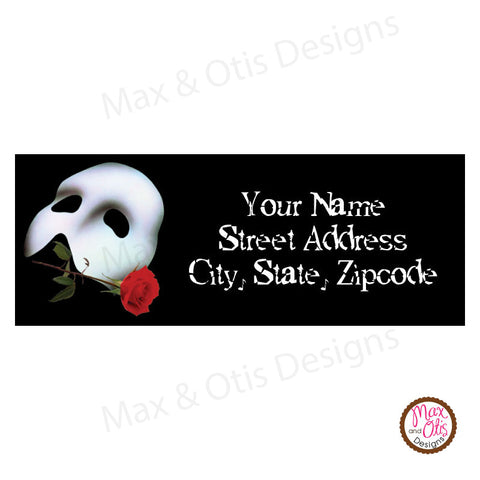 Printable Address Labels - Phantom of the Opera