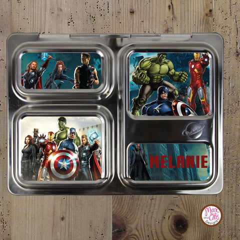 PlanetBox Launch Personalized Magnets - Avengers