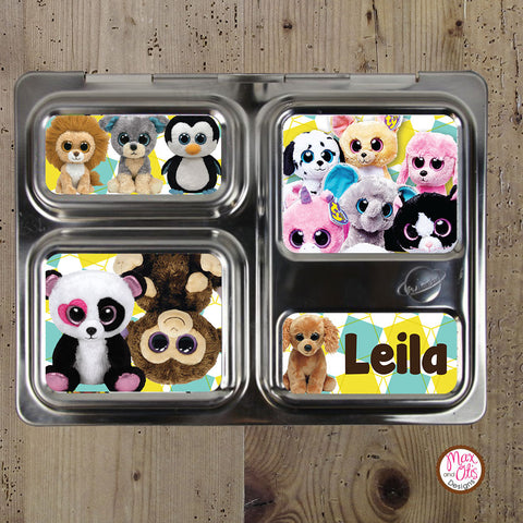 PlanetBox Launch Personalized Magnets - Beanie Boos
