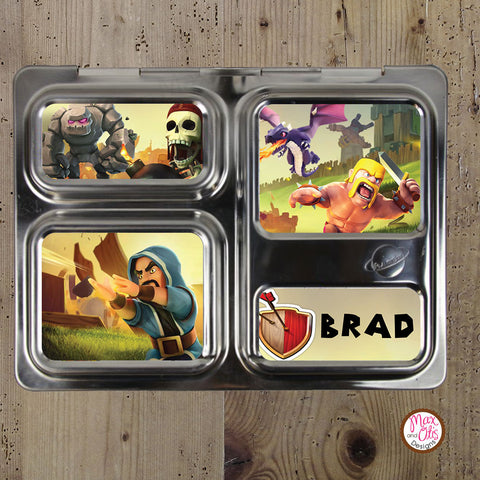 PlanetBox Launch Personalized Magnets - Clash of Clans