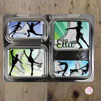 PlanetBox Launch Personalized Magnets - Ice Skating - Max & Otis Designs