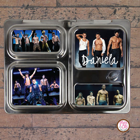 PlanetBox Launch Personalized Magnets - Magic Mike - Max & Otis Designs