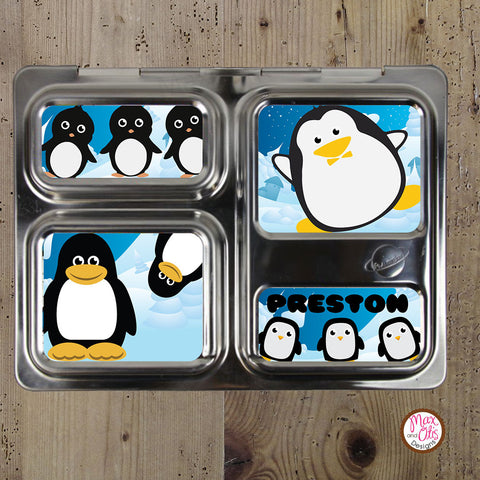 PlanetBox Launch Personalized Magnets - Penguin