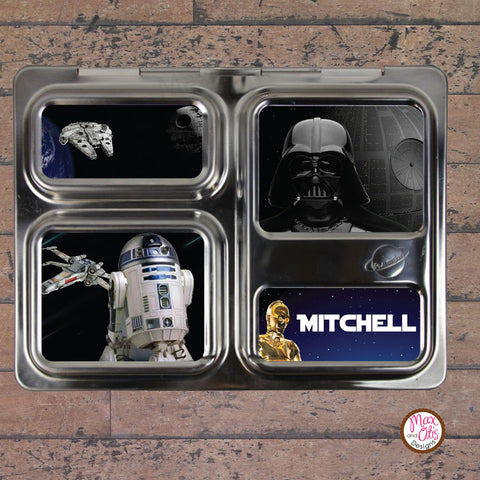 PlanetBox Launch Personalized Magnets - Star Wars - Max & Otis Designs