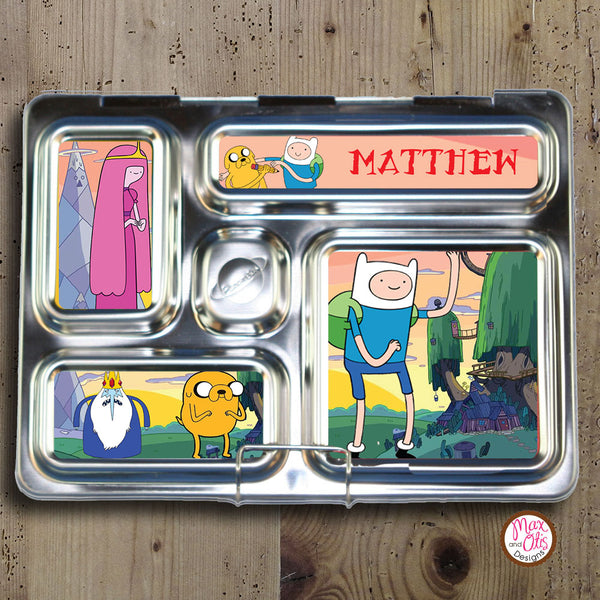 PlanetBox Rover Personalized Magnets - Adventure Time - Max & Otis Designs