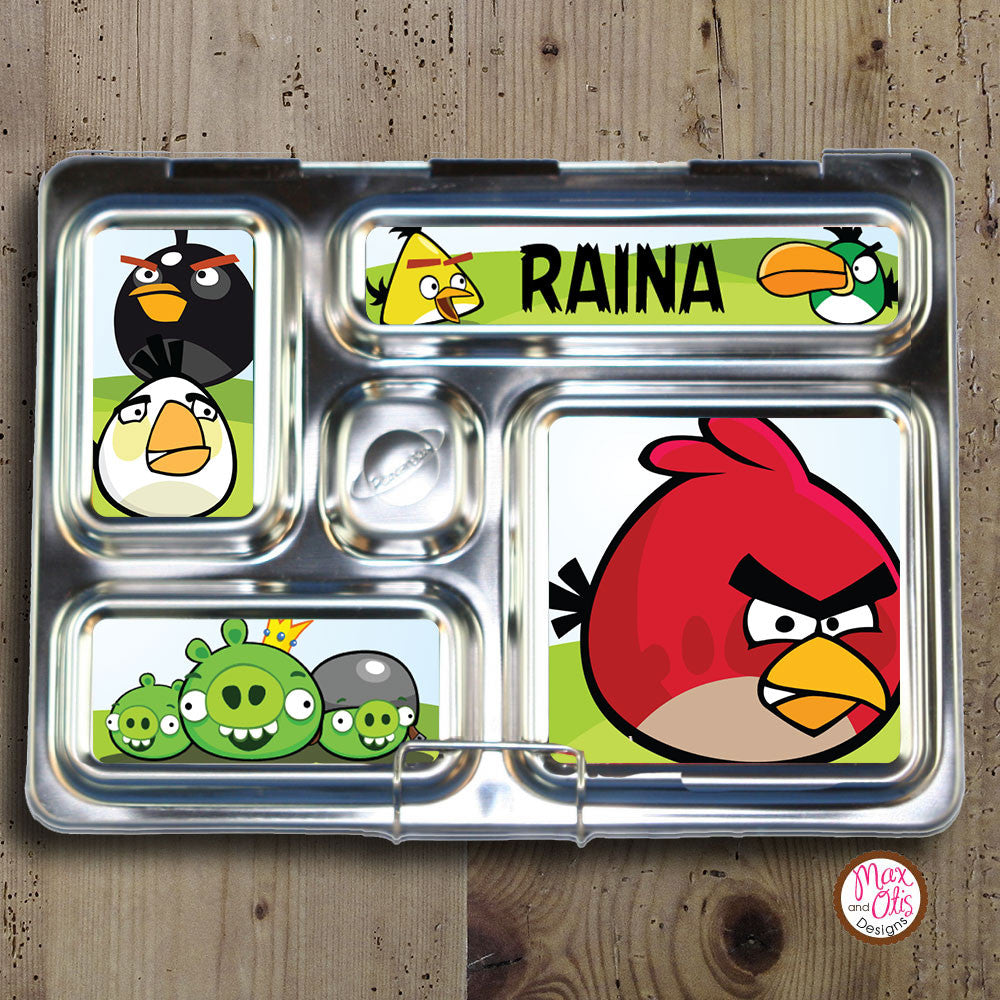PlanetBox Rover Personalized Magnets - Angry Birds - Max & Otis Designs