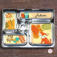 PlanetBox Rover Personalized Magnets - Autumn Animals - Max & Otis Designs