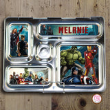 PlanetBox Rover Personalized Magnets - Avengers - Max & Otis Designs