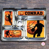 PlanetBox Rover Personalized Magnets - Basketball - Max & Otis Designs