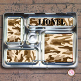 PlanetBox Rover Personalized Magnets - Camouflage - Max & Otis Designs