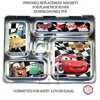 PlanetBox Rover Personalized Magnets - Cars - Max & Otis Designs