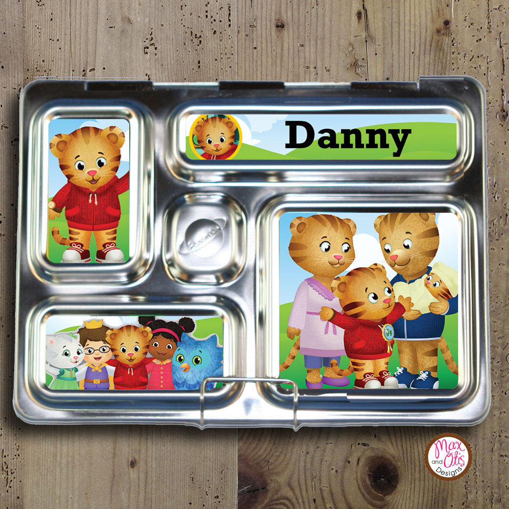 PlanetBox Rover Personalized Magnets - Daniel Tiger's Neighborhood - Max & Otis Designs