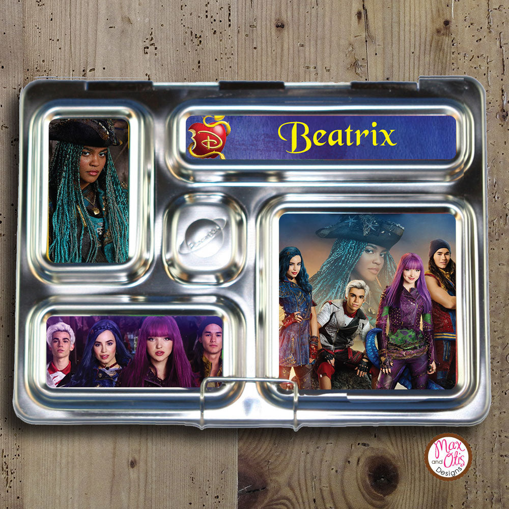 PlanetBox Rover Personalized Magnets - Descendants 2 - Max & Otis Designs
