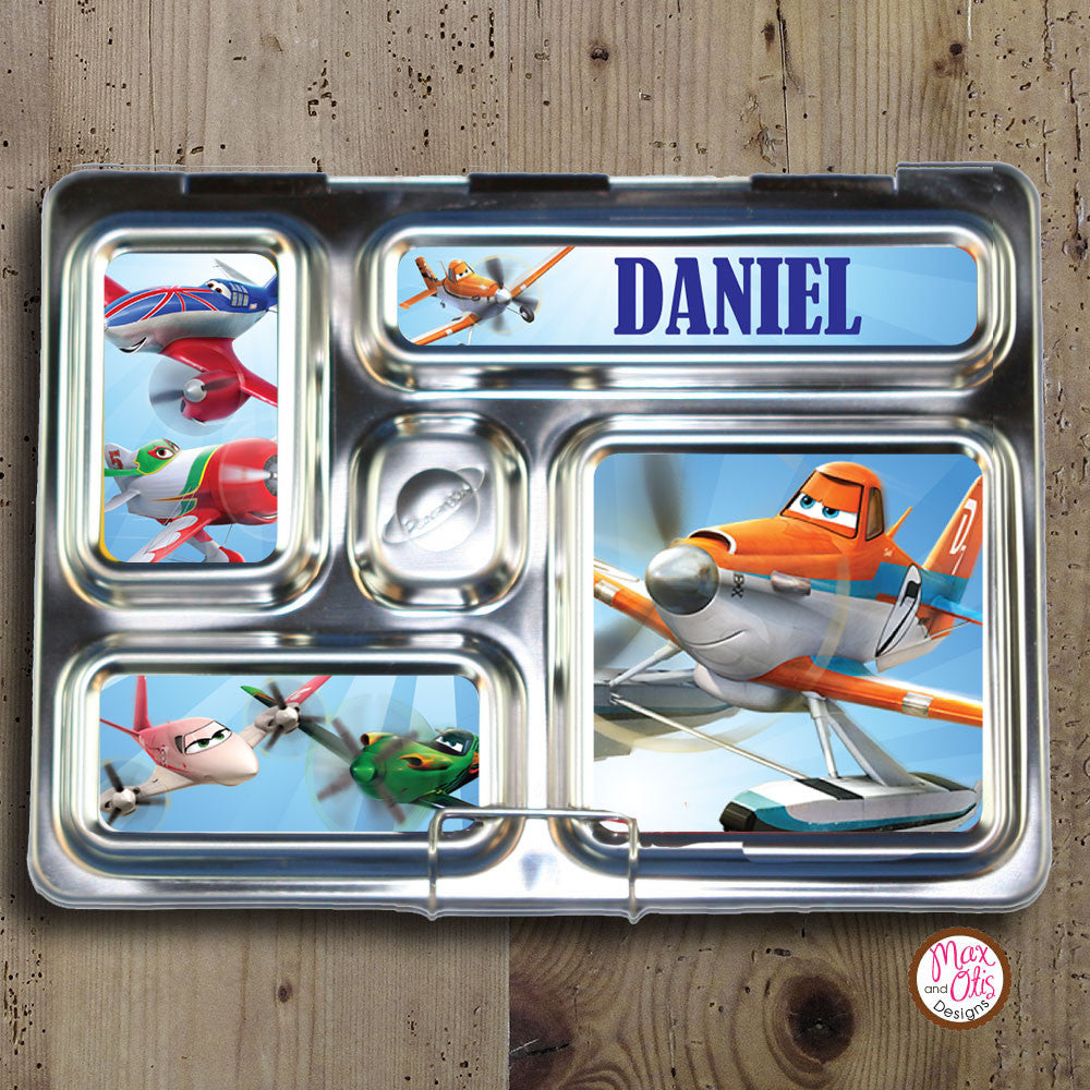 PlanetBox Rover Personalized Magnets - Disney Planes - Max & Otis Designs