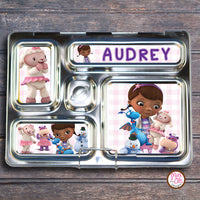 PlanetBox Rover Personalized Magnets - Doc McStuffins - Max & Otis Designs