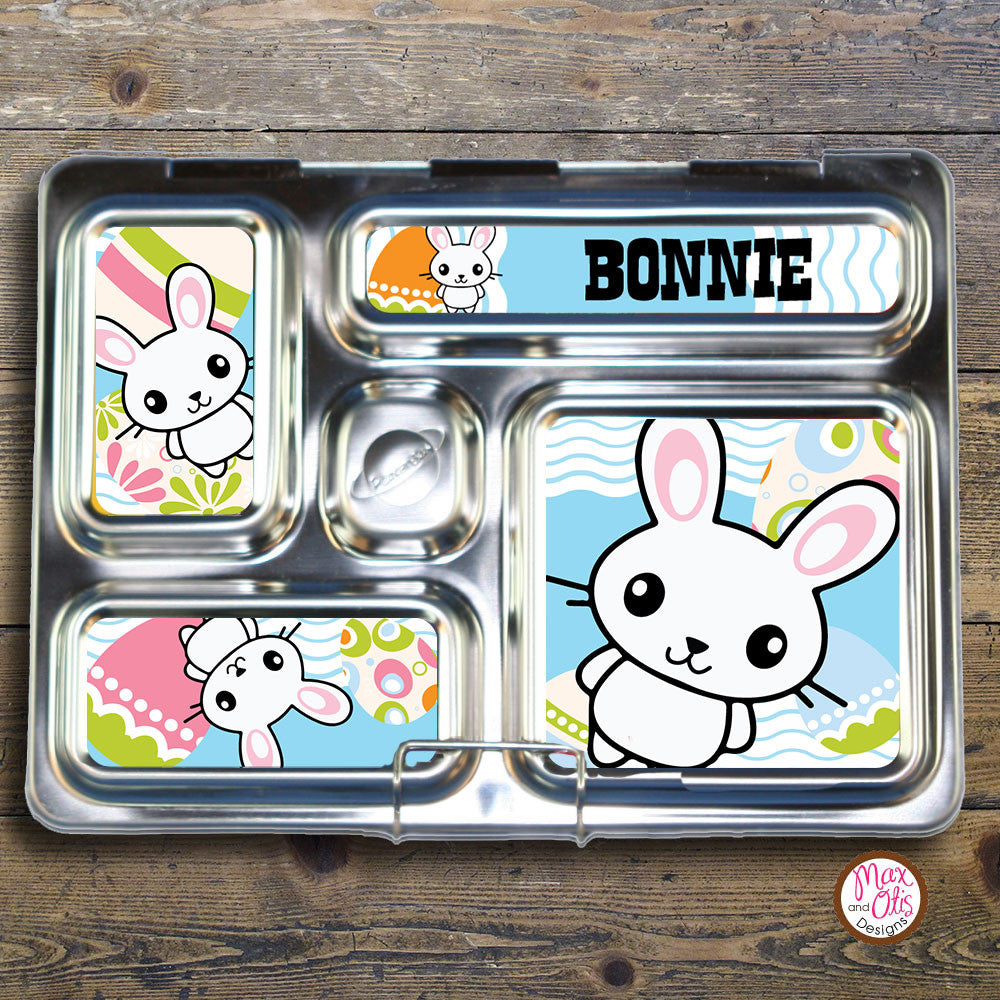 PlanetBox Rover Personalized Magnets - Easter Bunny - Max & Otis Designs