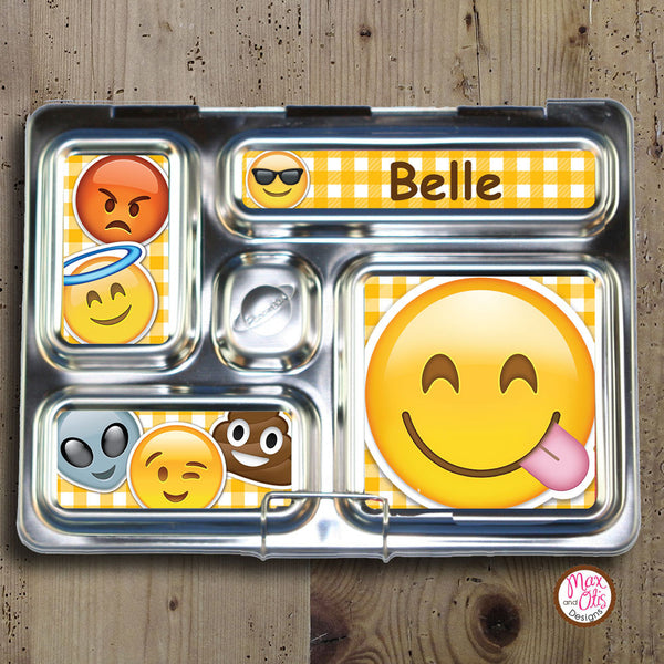 PlanetBox Rover Personalized Magnets - Emoji - Max & Otis Designs