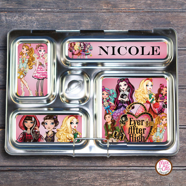 PlanetBox Rover Personalized Magnets - Ever After High - Max & Otis Designs