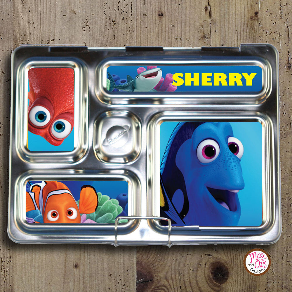 PlanetBox Rover Personalized Magnets - Finding Dory - Max & Otis Designs