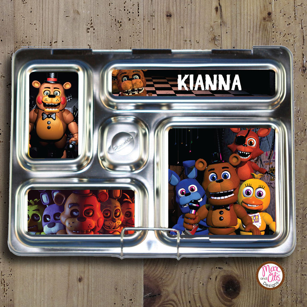PlanetBox Rover Personalized Magnets - Five Nights at Freddy's