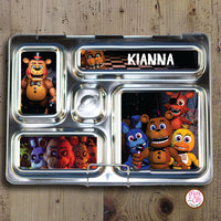 PlanetBox Rover Personalized Magnets - Five Nights at Freddy's - Max & Otis Designs