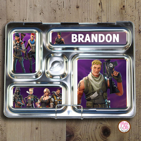 PlanetBox Rover Personalized Magnets - Fortnite - Max & Otis Designs