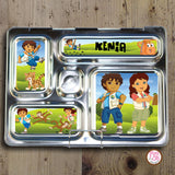 PlanetBox Rover Personalized Magnets - Go Diego Go! - Max & Otis Designs